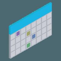 Use case icon - calendar