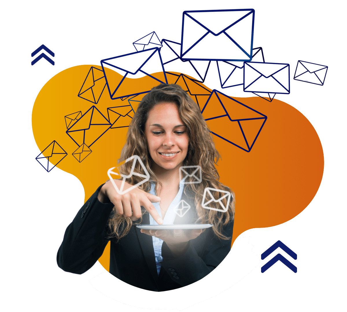 Email lady 1