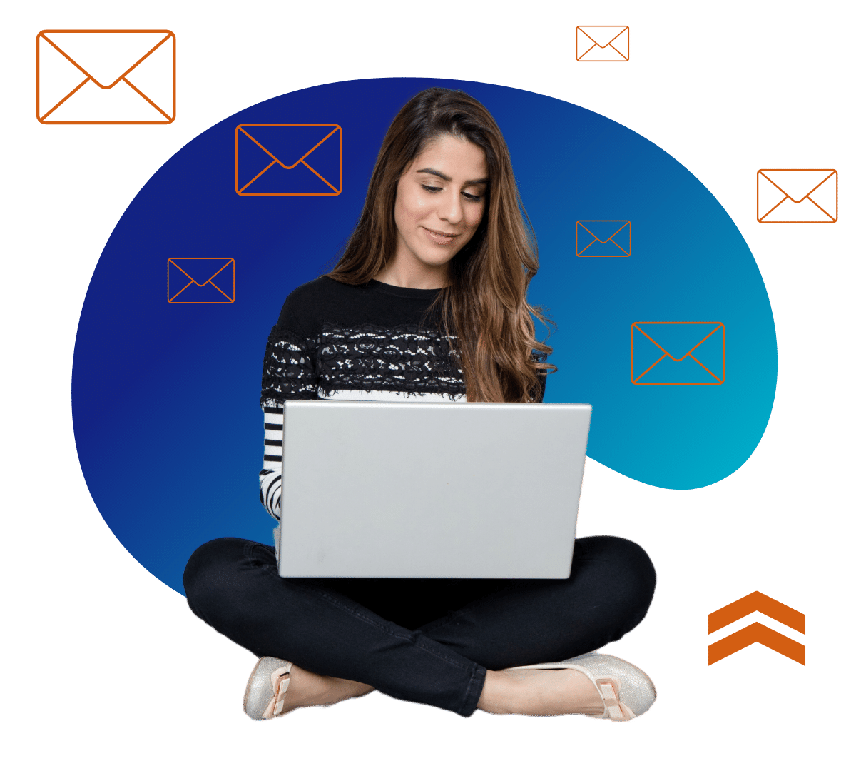 email lady 2